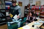 V Mojném už se dostavilo k volební urně 70 procent zapsaných voličů.