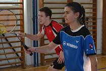 Po roce opět vystoupal až na nejvyšší stupínek svátečního křemežského turnaje mladý mix Jindřich Kukač a Zuzana Matoušková.