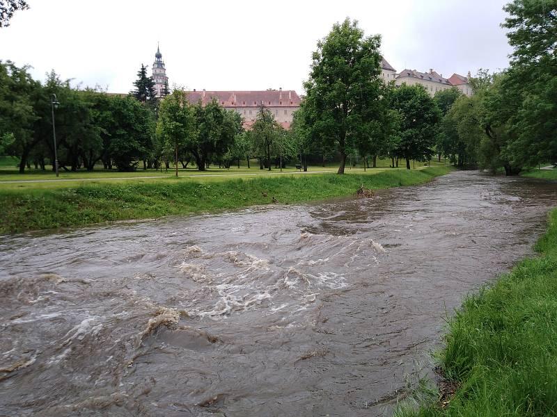Polečnice se ve středu kolem 14. hodiny držela těsně pod 1. stupněm povodňové aktivity.
