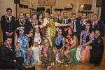 Hasičský ples ve Velešíně.