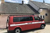 Toto vozidlo nahradilo v Černé v Pošumaví třicet let starou Avii.