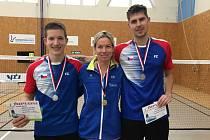 Krumlovští badmintonisté byli na Memoriálu Holobradého v Praze úspěšní.