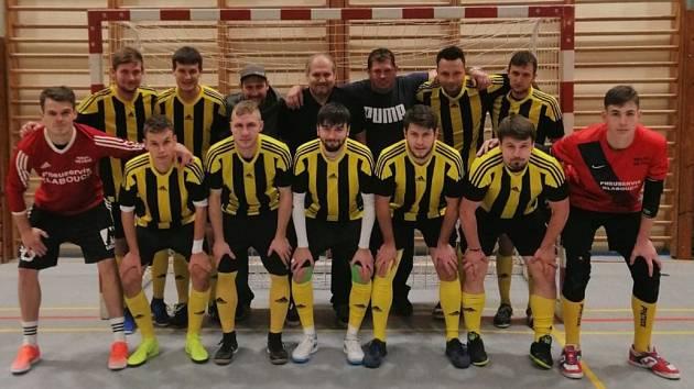 Bombarďáci Větřní obsadili v základní části celostátní ligy páté místo a ve čtvrtfinále vypadli se Spartou.