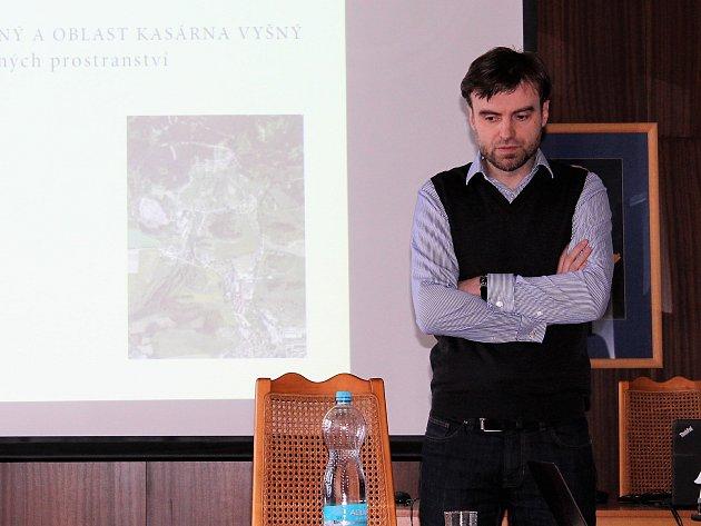 Ondřej Busta, městský architekt města Český Krumlov.