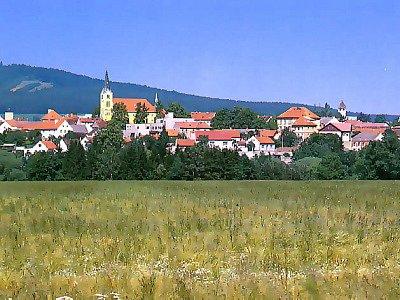 Městys Křemže.