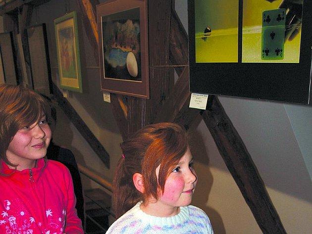 Už dva dny po otevření charitativní výstavy obrazů si své nové majitele našlo hned jedenáct výtvarných děl.