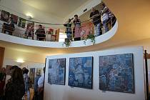 Výstava jihočeských výtvarníků v Křemži potrvá do neděle 12. září.