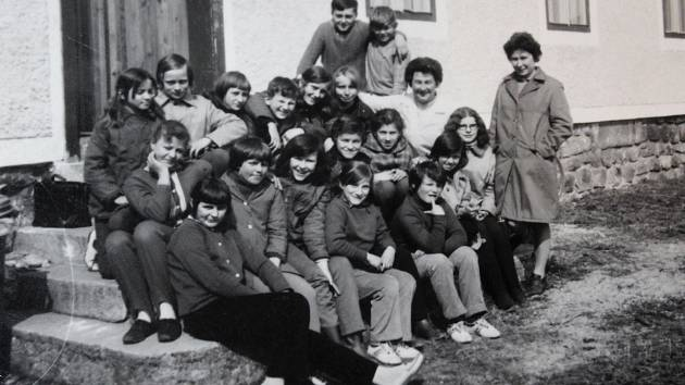 Na léta strávená v Československém červeném kříži zavzpomínala paní Irena Mrázová z Horní Plané.