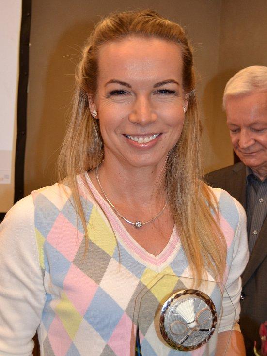 Nejúspěšnější sportovci Českokrumlovska za rok 2018 - badmintonistka Hana Milisová.