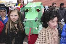 Vidět byly masky a kostýmy všeho druhu