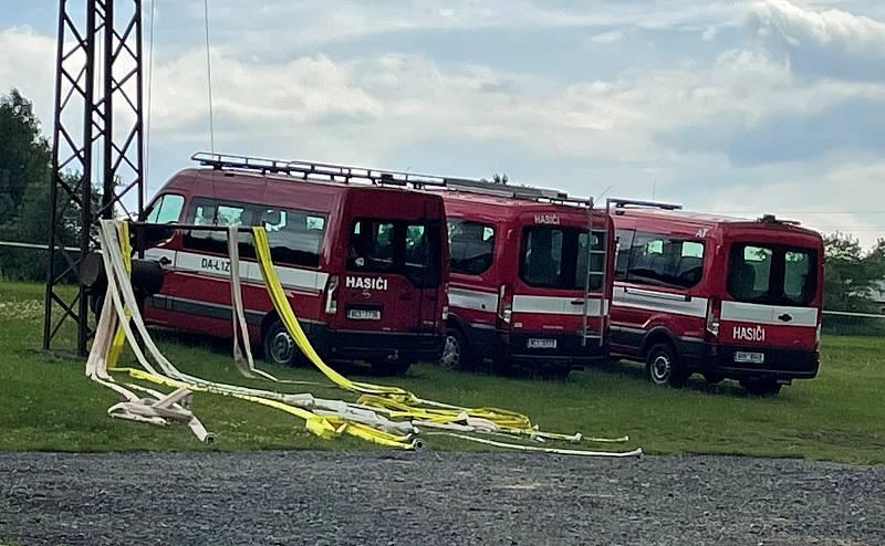 V Soběnově na hřišti u koupaliště se v sobotu konalo okresní kolo v požárním sportu.