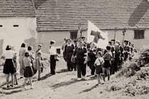 Českokrumlovský červený kříž na Českokrumlovsku.