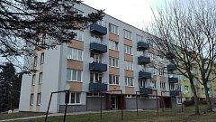 Výtahů se dočkají i obyvatelé bytů v panelácích na adrese Na Vyhlídce č. p. 267 a 268.
