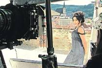 Krásná bollywoodská hvězda Poorna natáčela v Českém Krumlově.