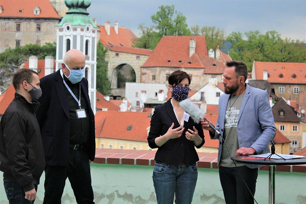Velké testování na COVID-19 v Českém Krumlově.