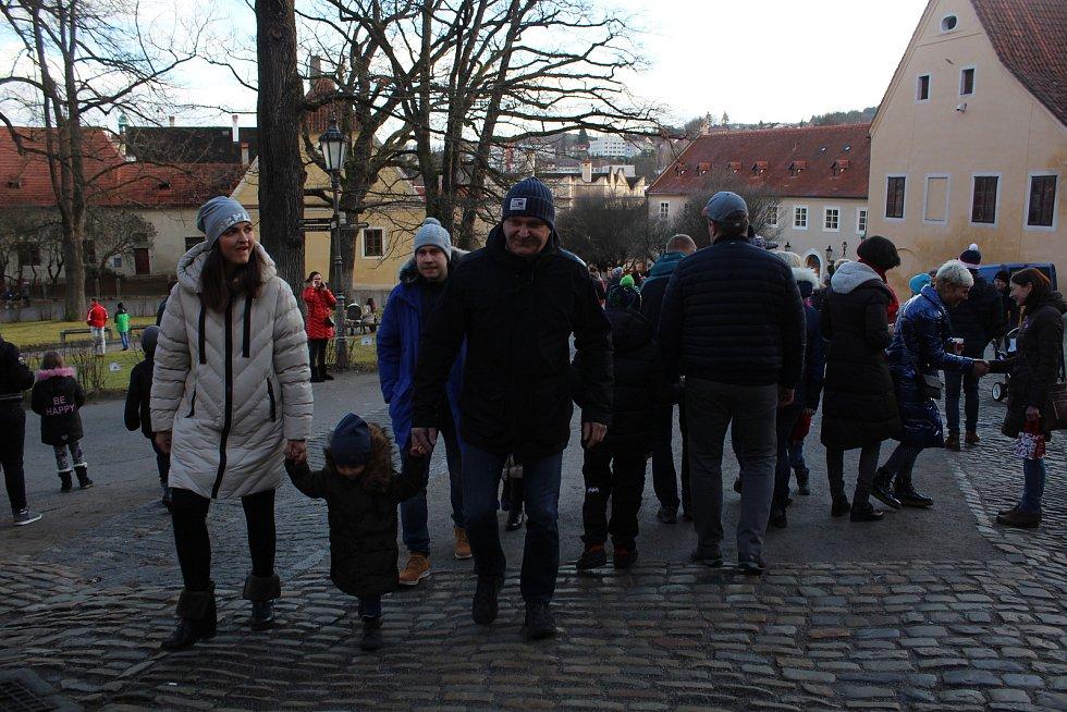Medvědí Vánoce na krumlovském zámku.