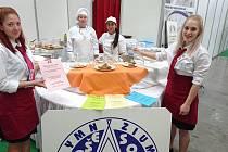Kapličtí učni na Gastrofestu v Českých Budějovicích.