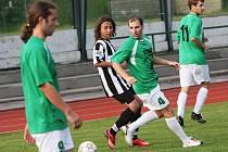 Fotbalové utkání A skupiny oblastní I. B třídy / FK Slavoj Český Krumlov B - FK Topmen Spartak Kaplice B 2:1 (1:0).