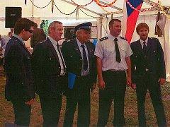 Rájovští dobrovolní hasiči.