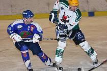 1. čtvrtfinálové utkání hokejové krajské ligy mužů / HC Slavoj Český Krumlov - HC Vimperk 5:2.