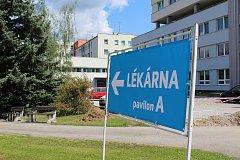 Nemocniční lékárna je od tohoto týdne přestěhovaná do nového pavilonu A.