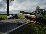 Nehoda u Netřebic.