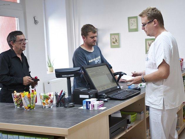 Lékárna ve Frymburku. Ilustrační foto.