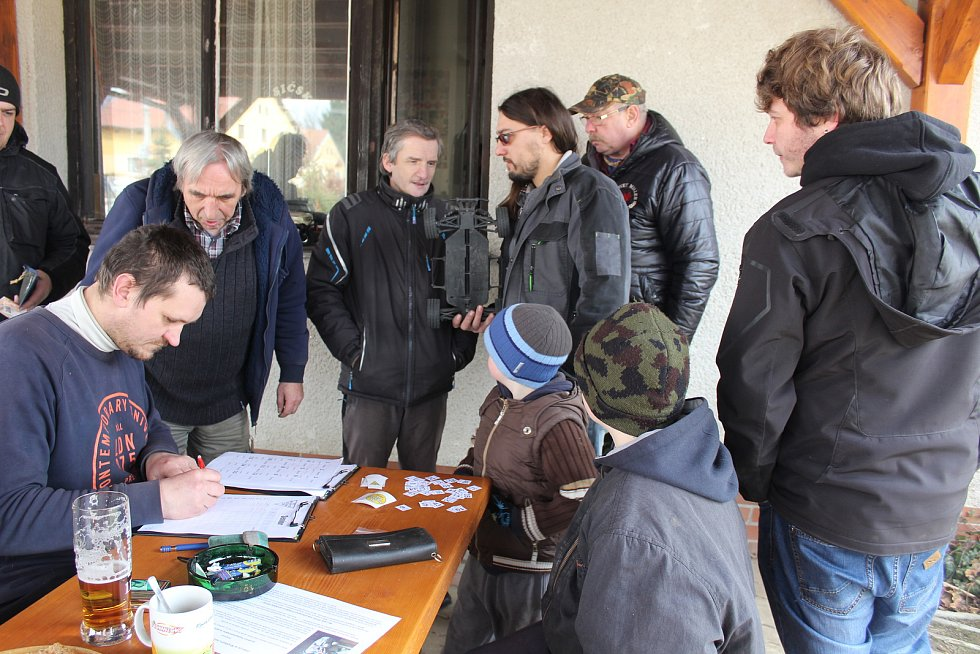 Monstr Džem 2018 uspořádali modeláři v Rojšíně.