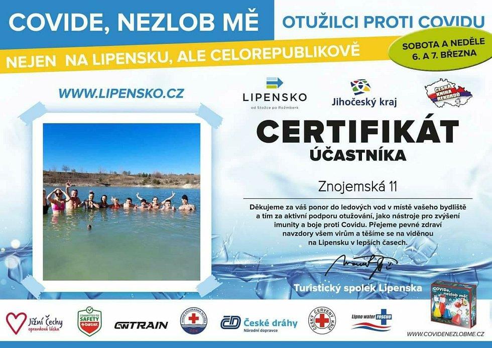 Certifikát Znojemské 11.