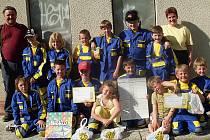 Omlenický sbor dobrovolných hasičů v posledních letech výrazně omládl. Děti se s chutí pouštějí i do soutěží.