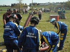 Díky soutěžnímu nasazení dělají mladí omleničtí hasiči dobré jméno svému sboru.