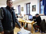 Ve Zlaté Koruně odvolilo zatím 45 % občanů.