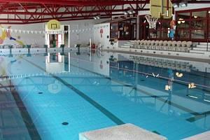 Plavecký bazén v Českém Krumlově.