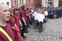Festival Vltavské Cantare v Českém Krumlově.