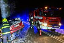 O víkendu se stala tragická nehoda u Netřebic.
