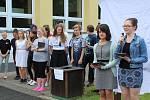 Otevření nově upravené dendrologické stezky v Základní škole Plešivec v Českém Krumlově.