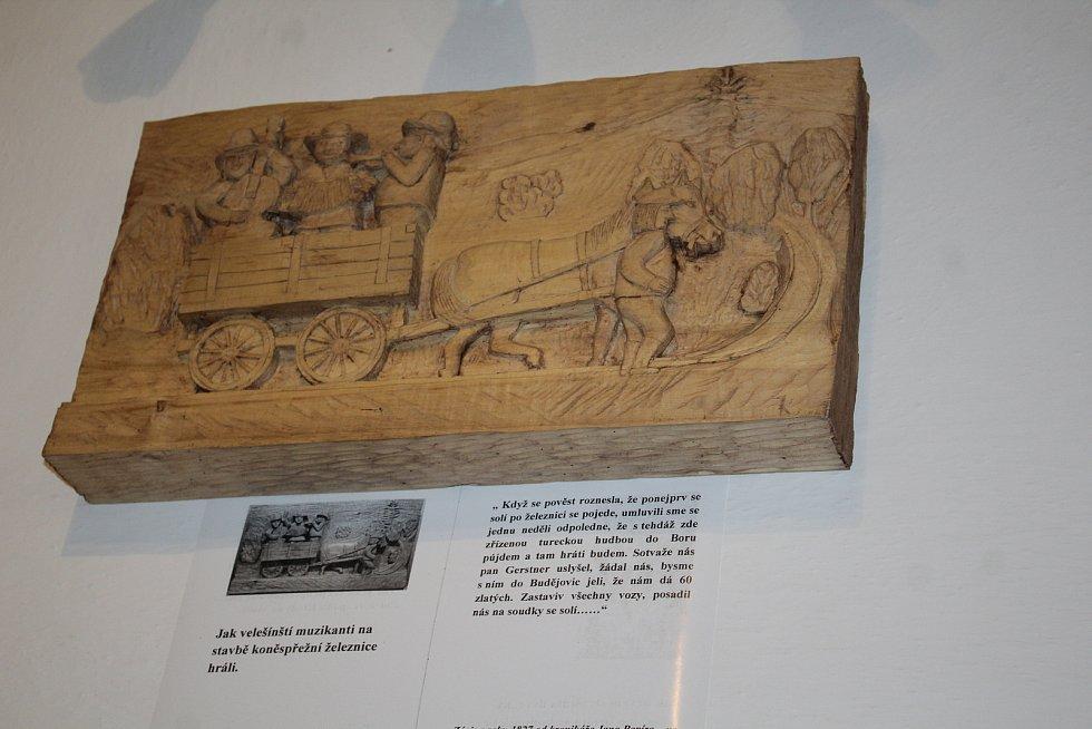 Vernisáž obou výstav v Římově.