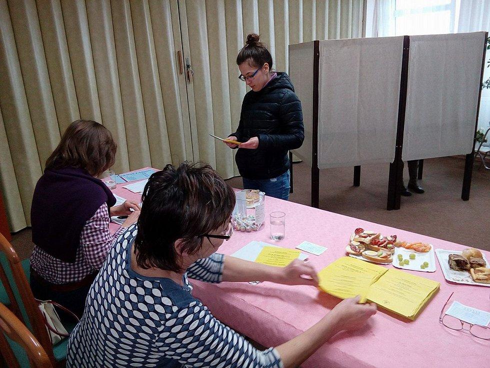 V Dolním Třeboníně do sobotního poledne odvolilo 65 procent zapsaných voličů.
