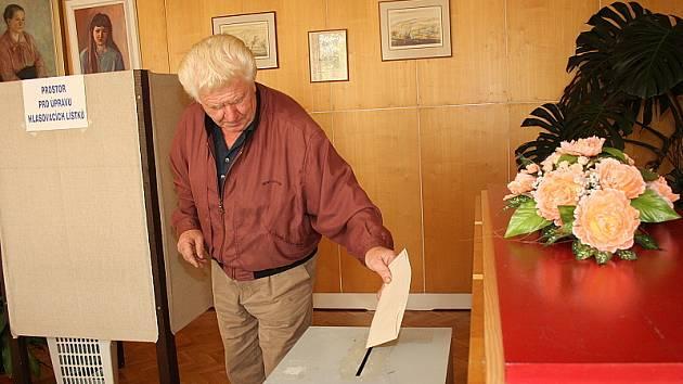 Volby do krajských zastupitelstev v Brloze.