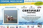 Certifikát Lenky Žežulkové