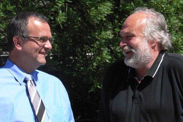 Miroslav Kalousek (vlevo) a Jan Vondrouš.