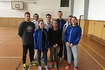 Rezervní tým SKB Český Krumlov (na snímku) vybojoval v Jihozápadním oblastním přeboru družstev dospělých konečné třetí místo.