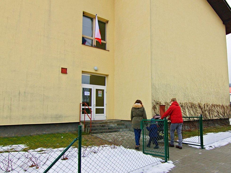 Druhé kolo prezidentských voleb 2018 ve Vyšším Brodě.