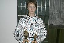 Křemežský žák Petr Beran po dvou bronzech z loňského evropského šampionátu přidal na zahraniční scéně další cenný úspěch a z velkého mezinárodního turnaje v Berlíně si přivezl poháry za prvenství ve všech disciplínách.
