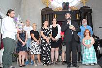 Slavnostní předání Cen města v českokrumlovské synagoze.