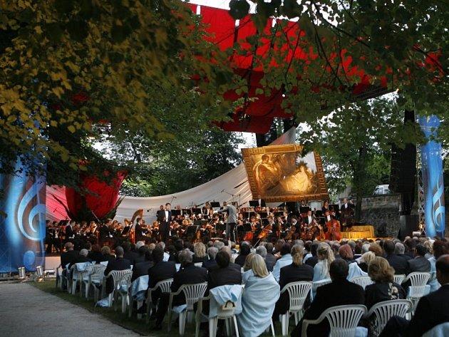 Mezinárodní hudební festival v České Krumlově. Ilustrační foto.