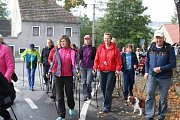 Čtvrtý přátelský pochod Nordic Wolking Branou Novohradských hor se konal v Rychnově u Nových Hradů.