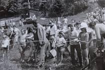 Jak jsme žili ve Vyšší Brodě v roce 1988.
