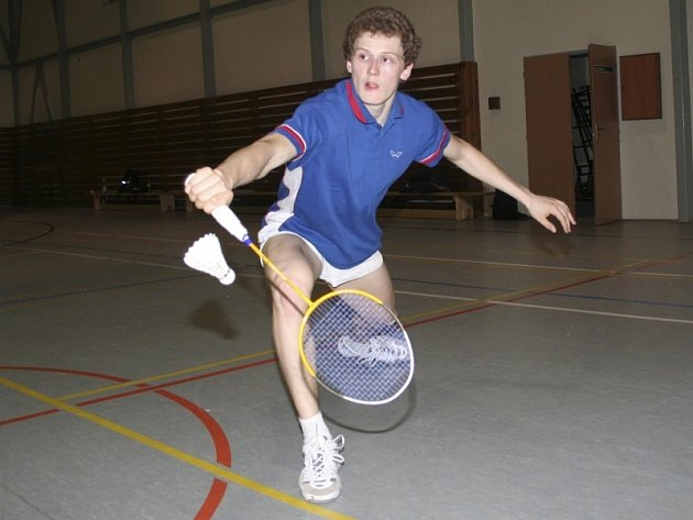 Badmintonista Pavel Florián.