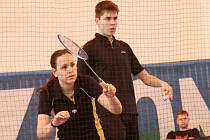 Sabina Milová s Jaromírem Janáčkem spolu smíšenou čtyřhru netrénují, a tak je jejich republikové zlato z mixu nejpříjemnějším překvapením šampionátu.